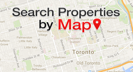 Search By Map Homes for Sale