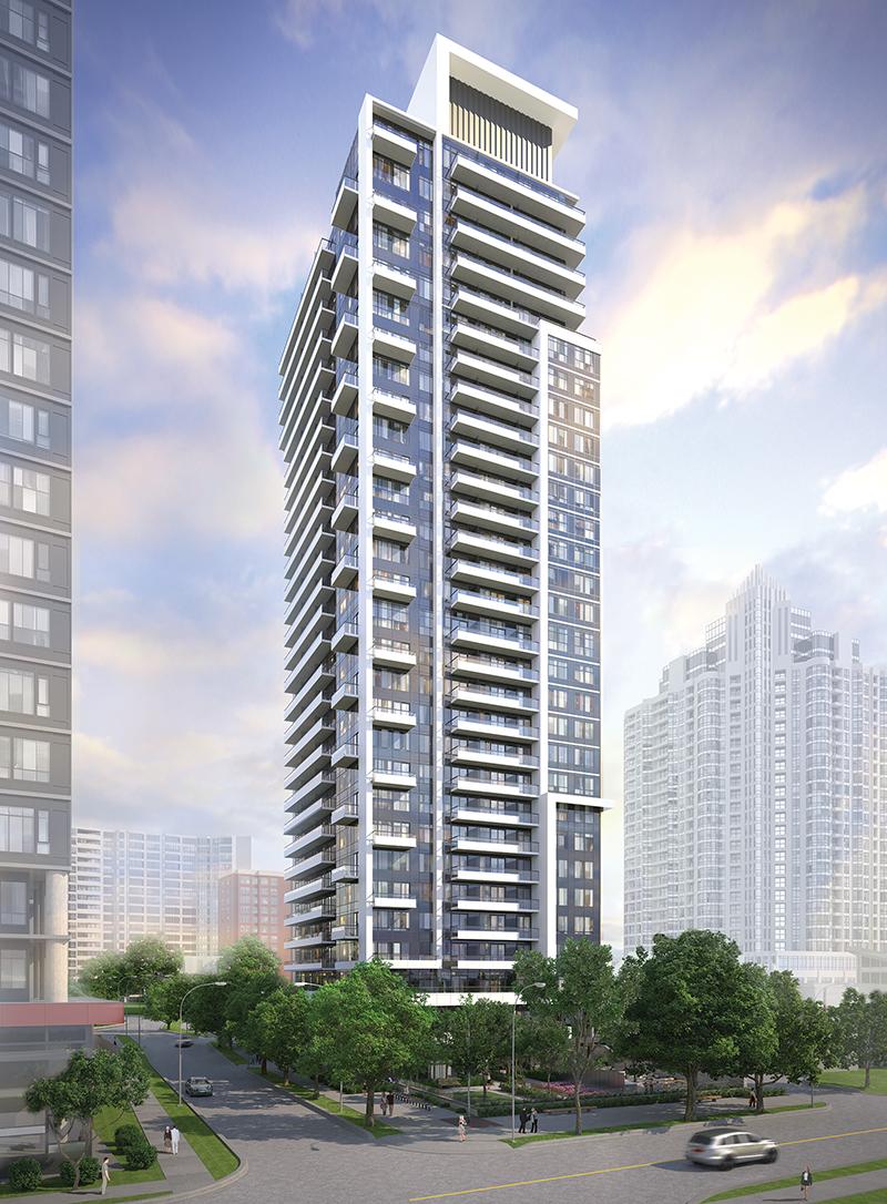 The Diamond Condominiums on Yonge