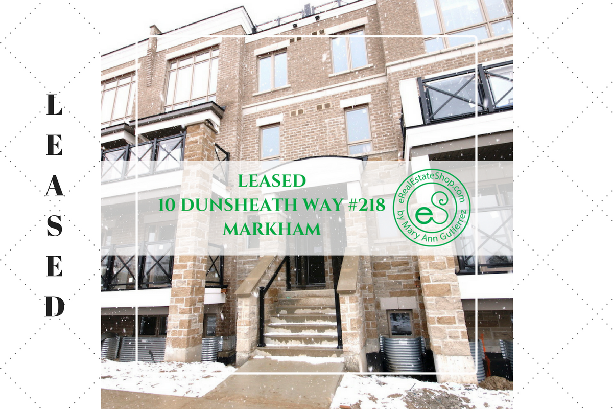 10 Dunsheath Way #218