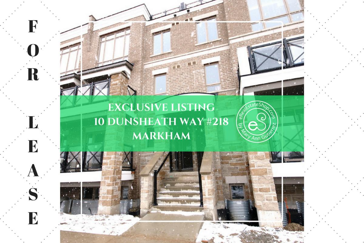 10 Dunsheath Way #218