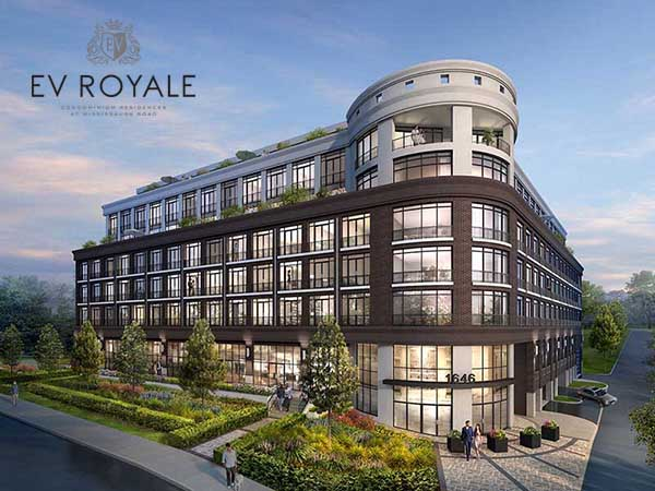EV Royale Condos on Mississauga Road
