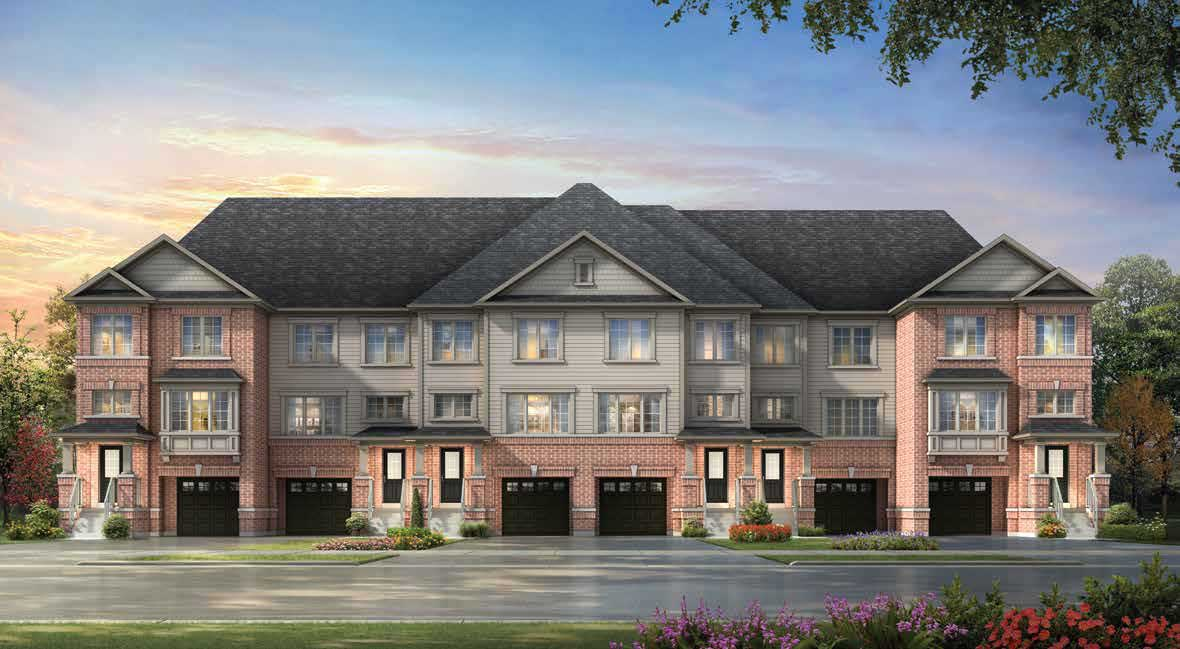 Grand River Woods Townhomes Cambridge
