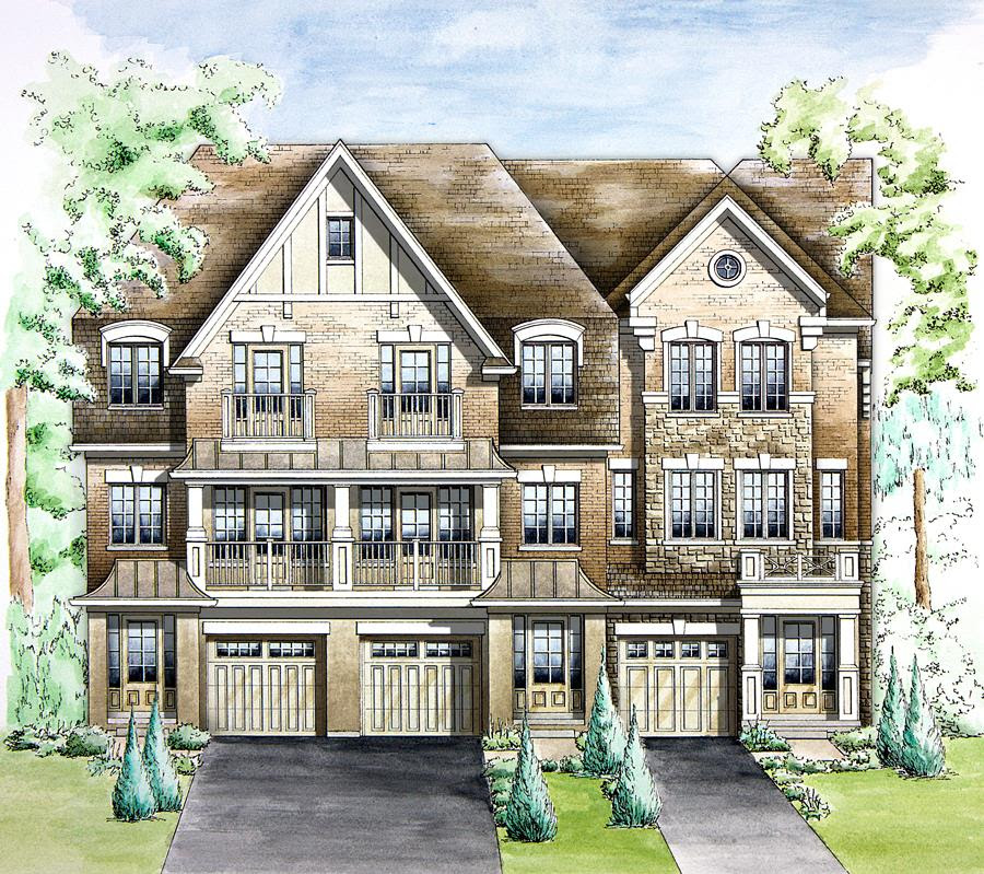 Luxury Townhomes in Oakville!