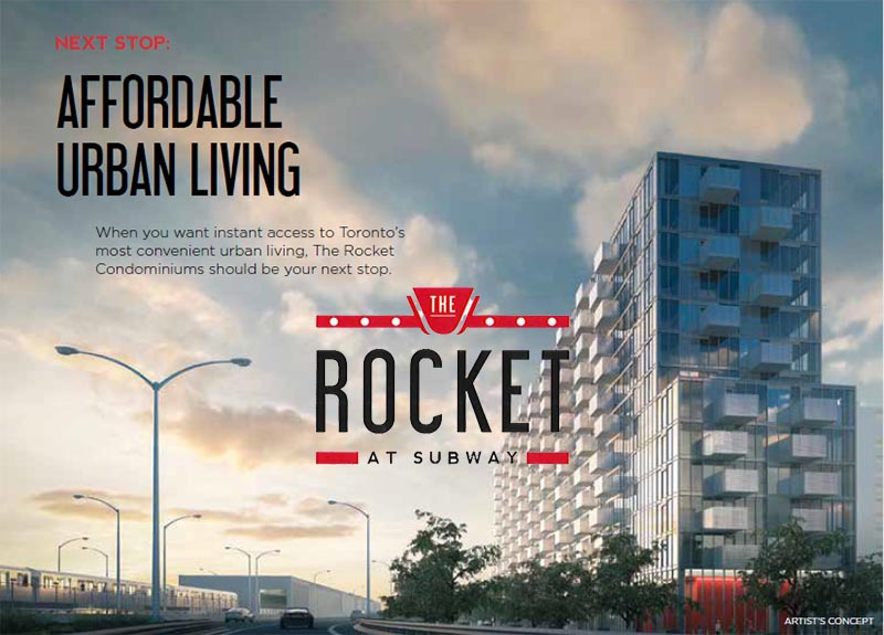 The Rocket at Subway - Condos