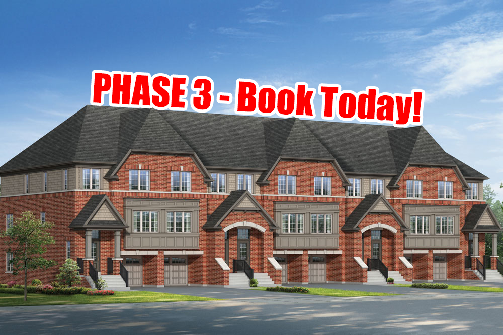 SOLD OUT - PHASE 3 - UC Towns by Tribute - Townhomes In Oshawa!