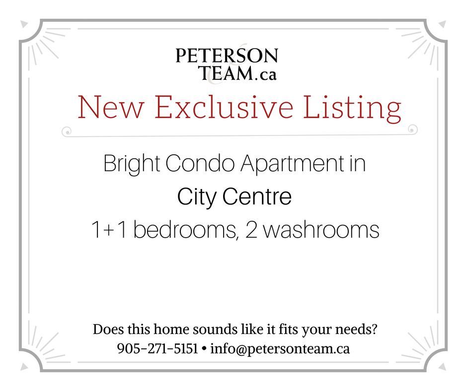 Bright Condo Apartment in City Centre