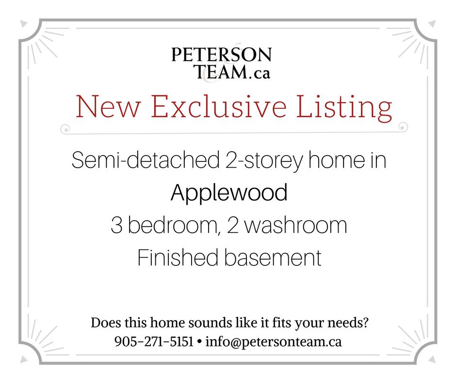3 bedroom semi-detached home in Applewood