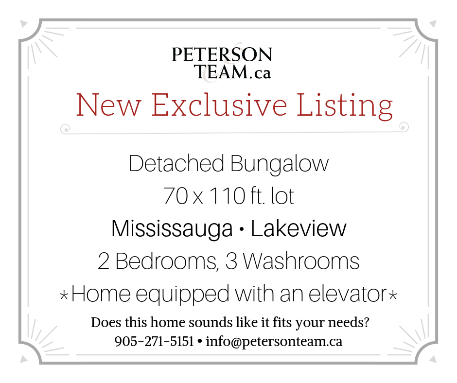 Detached bungalow in Lakeview with elevator