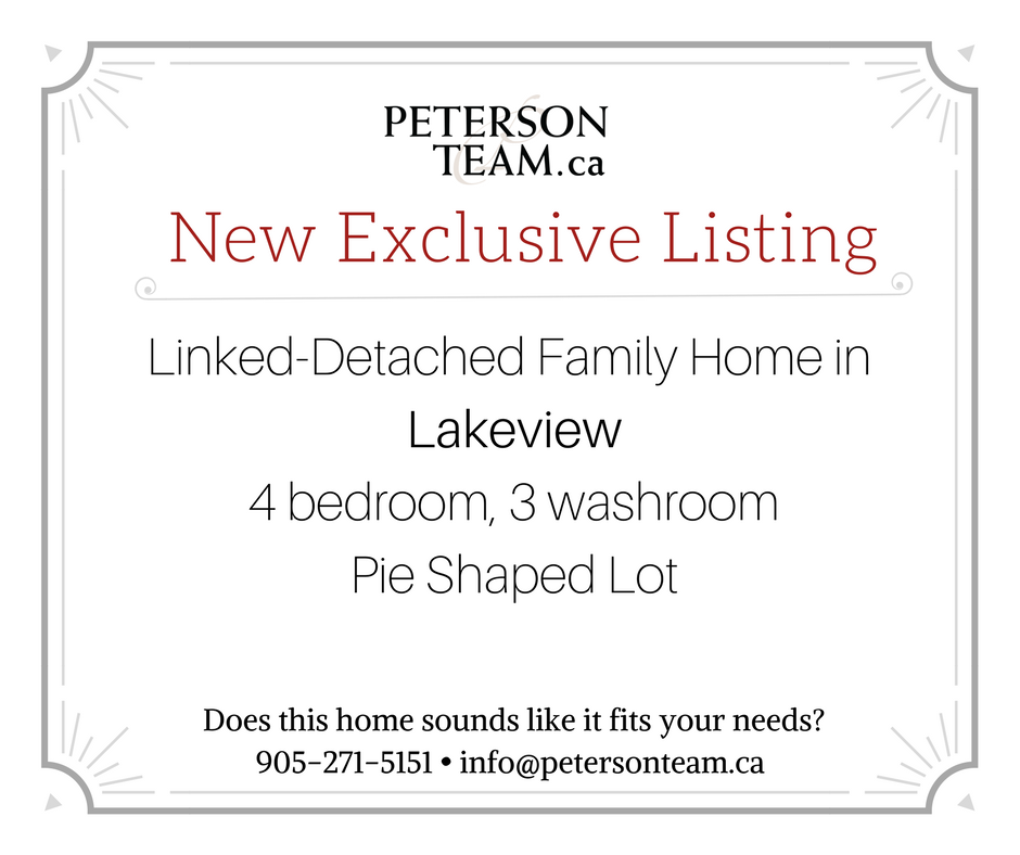 4 Bedroom Linked-Detached Home in Lakeview