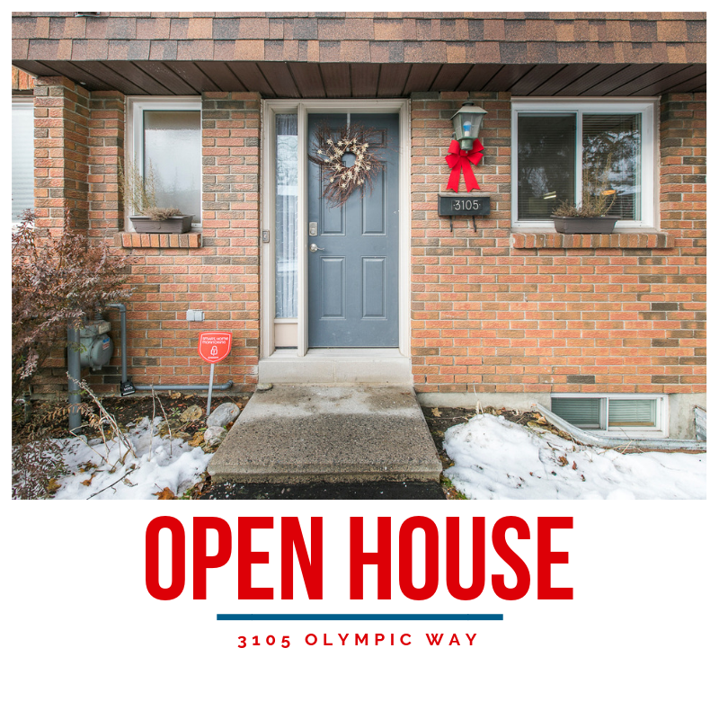 3105 Olympic Way | Bright End-Unit Town Home in Blossom Park