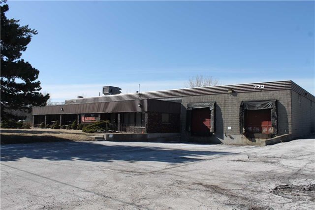 Solid Industrial Building On a 1.59 Acre Lot In Prime Pickering Location!