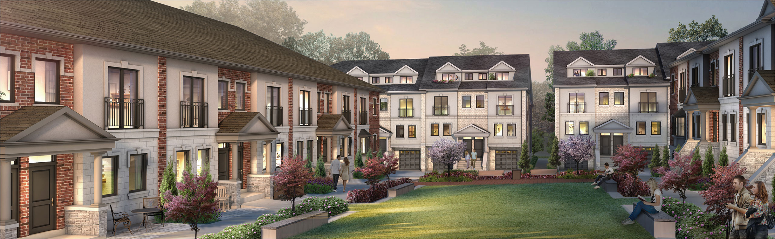 Townhomes in Whitby