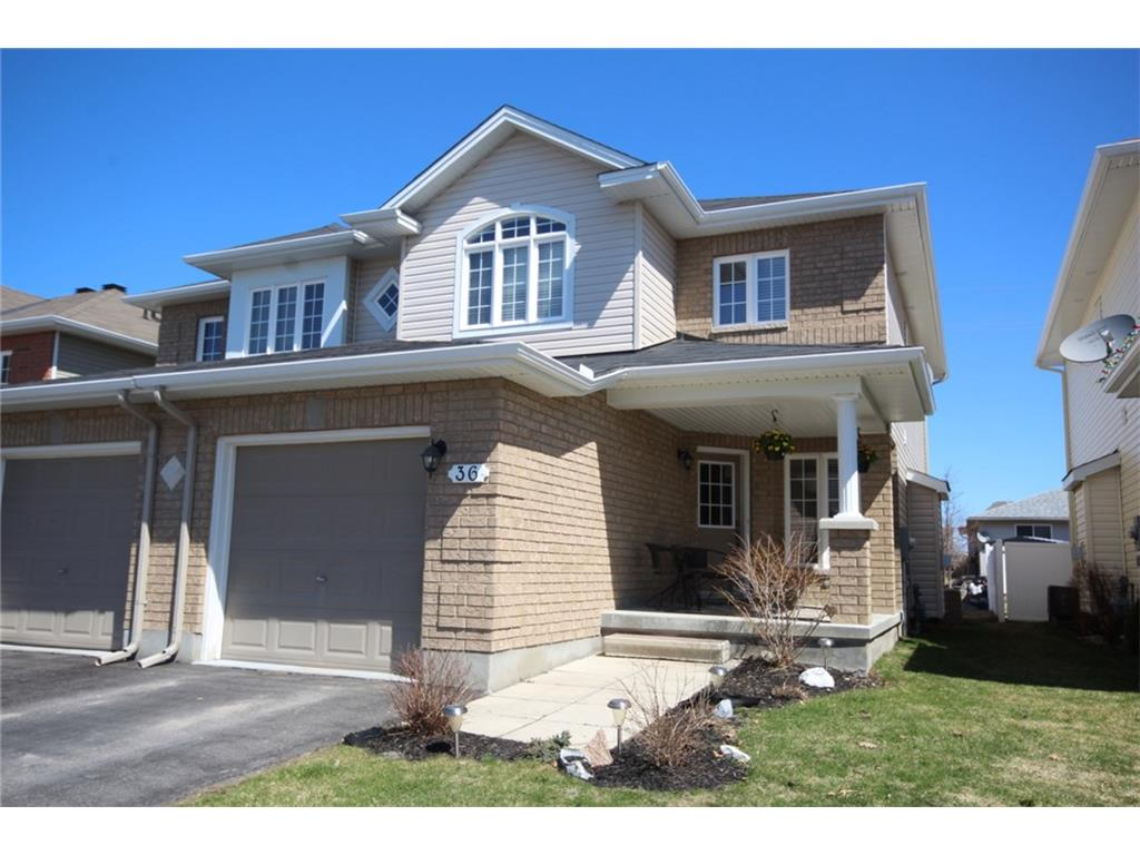 36 Moe Robillard St - Gorgeous 2 Storey Semi-Detached Home in Arnprior!