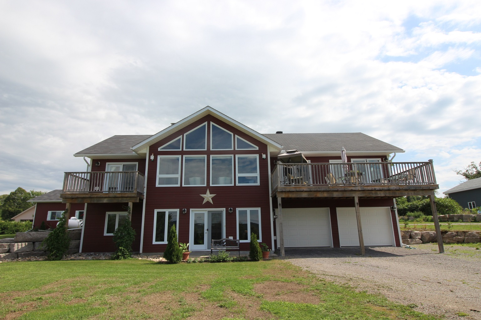 706 Point Church Rd - Gorgeous Acreage Property with Waterfront Views of Lake Dore near Eganville!
