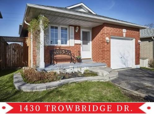 1430 Trowbridge Dr, Oshawa
