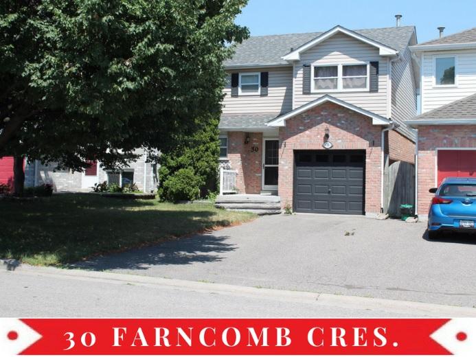 30 Farncomb Cres, Clarington