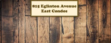815 Eglinton Avenue East Condos