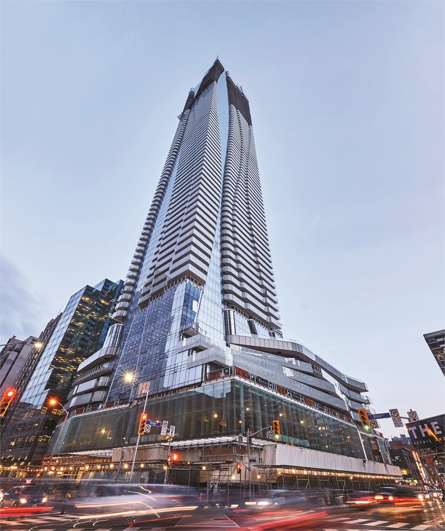 The ONE Residences Yonge & Bloor Toronto, From $2.6 to $28.5 Million