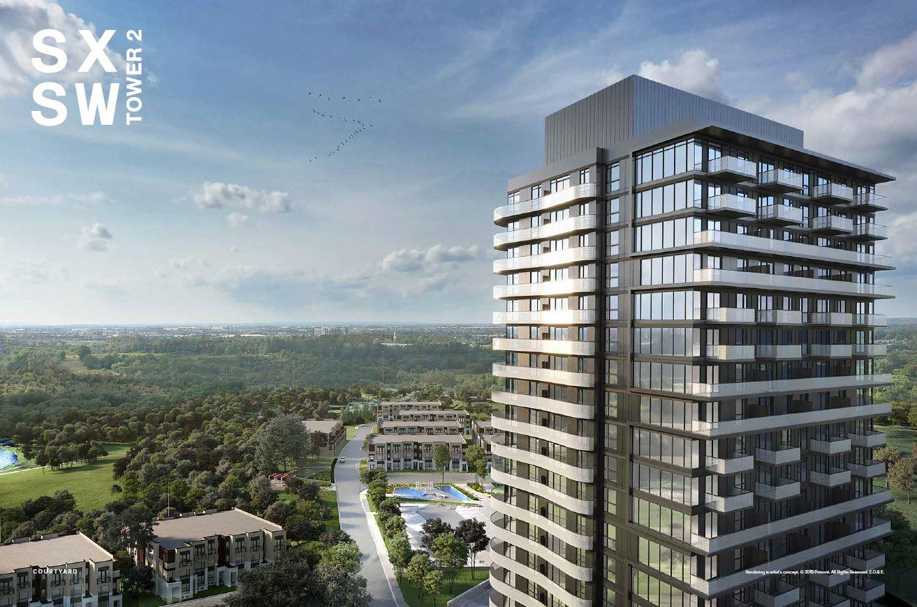 SXSW TOWER 2 CONDOS IN VAUGHAN From High $400s