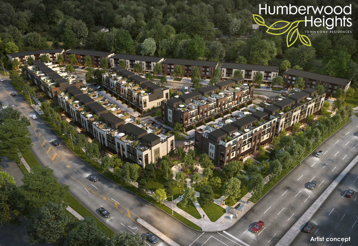 COMING SOON TO ETOBICOKE,Humberwood Heights Freehold & Back-to-Back Condo  Townhomes