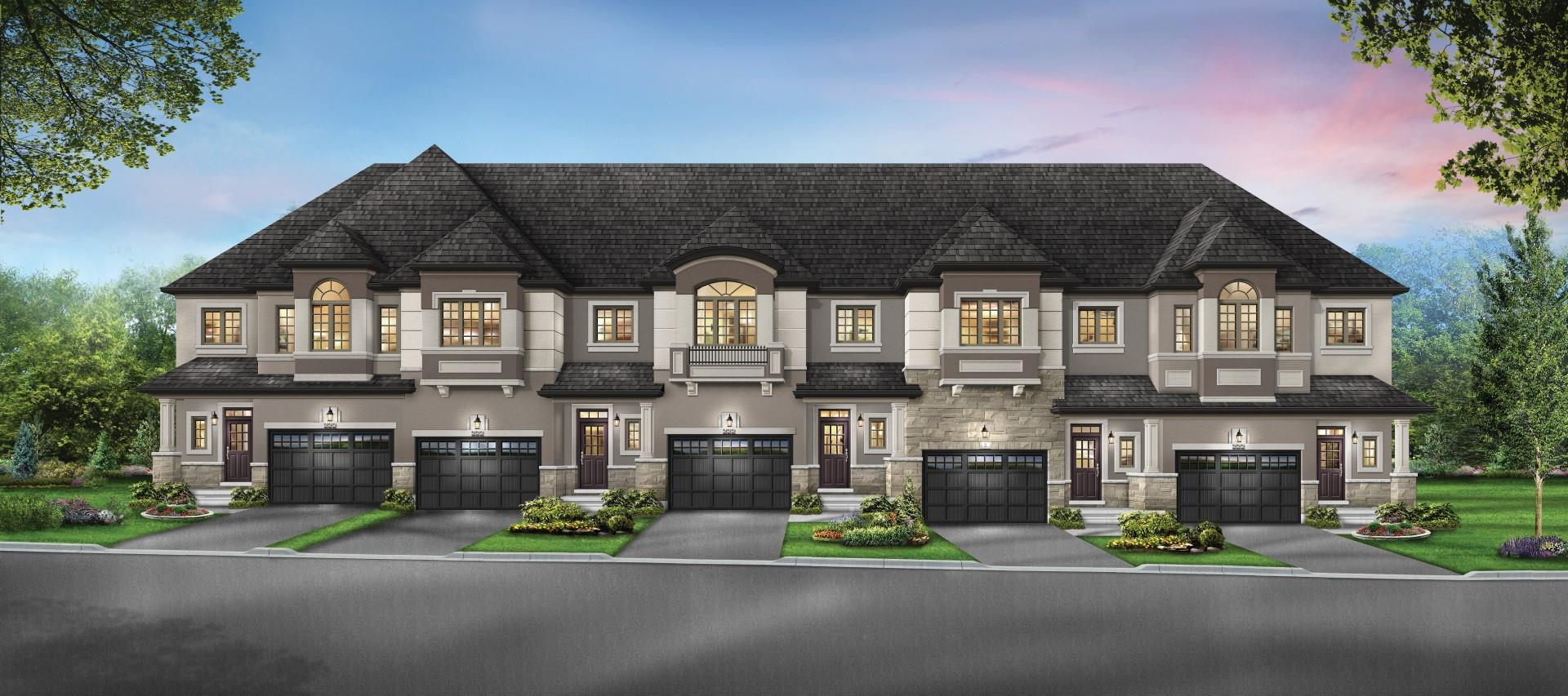 Greenscapes of ANCASTER  FREEHOLD TOWNHOMES-Now Open