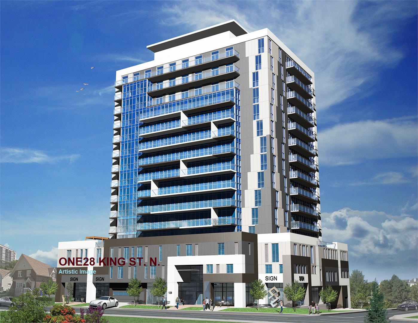 ONE28 King St. N Waterloo Condos SOLD OUT