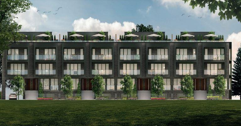 Vivid Urban new  condo townhouse development Gore Road, Brampton. SOLD OUT