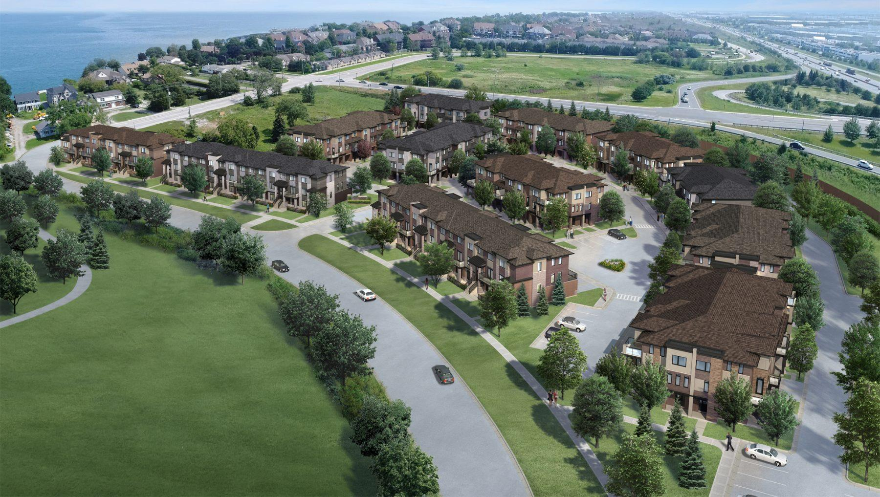 MYST Urban Towns in Stoney Creek  by Lake Ontario-New Development ...SOLD