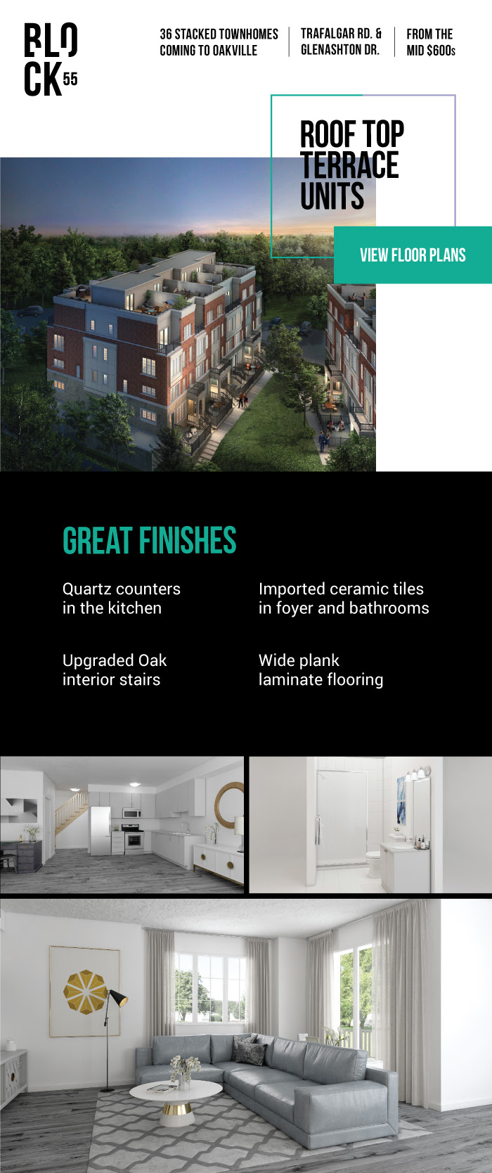 Oakville Townhomes Low Builder Price Move in ready!