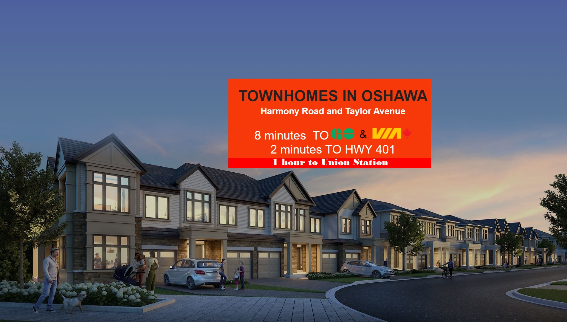 New Townhomes in Oshawa Get Priority VIP Pricing SOLD OUT