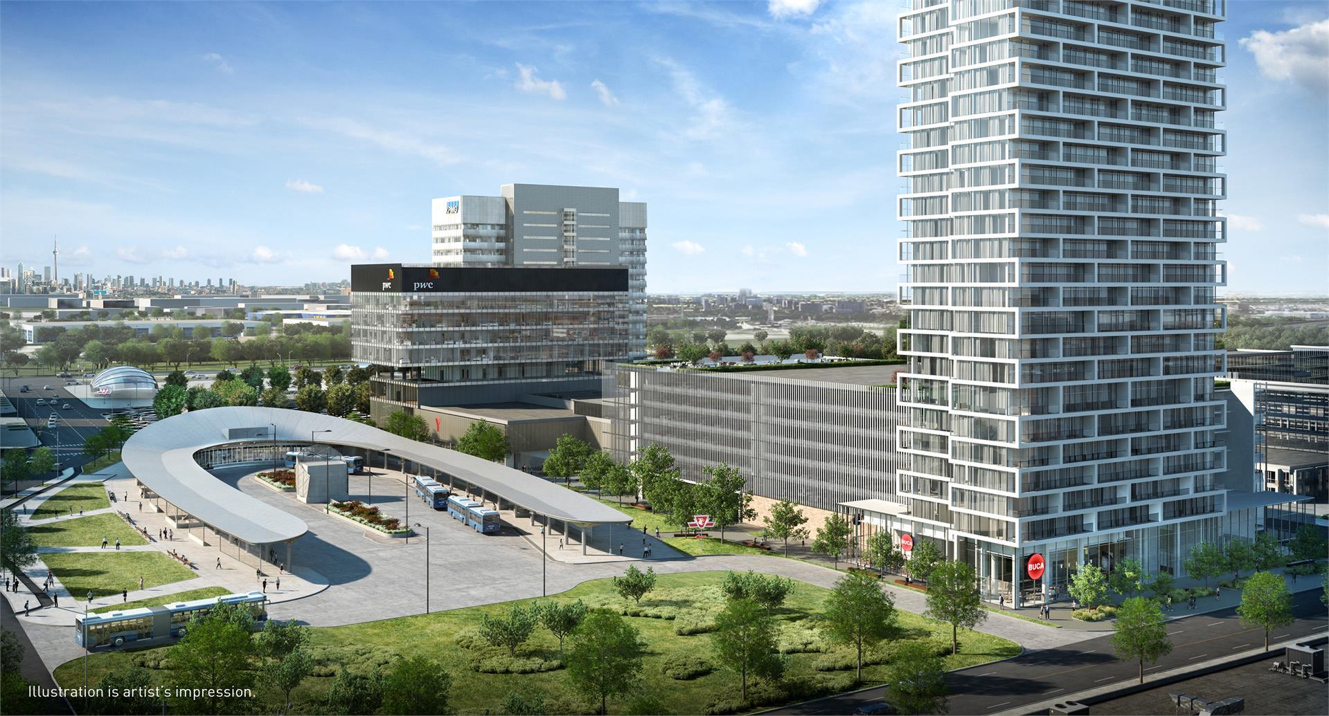 Transit City Condos in Vaughan