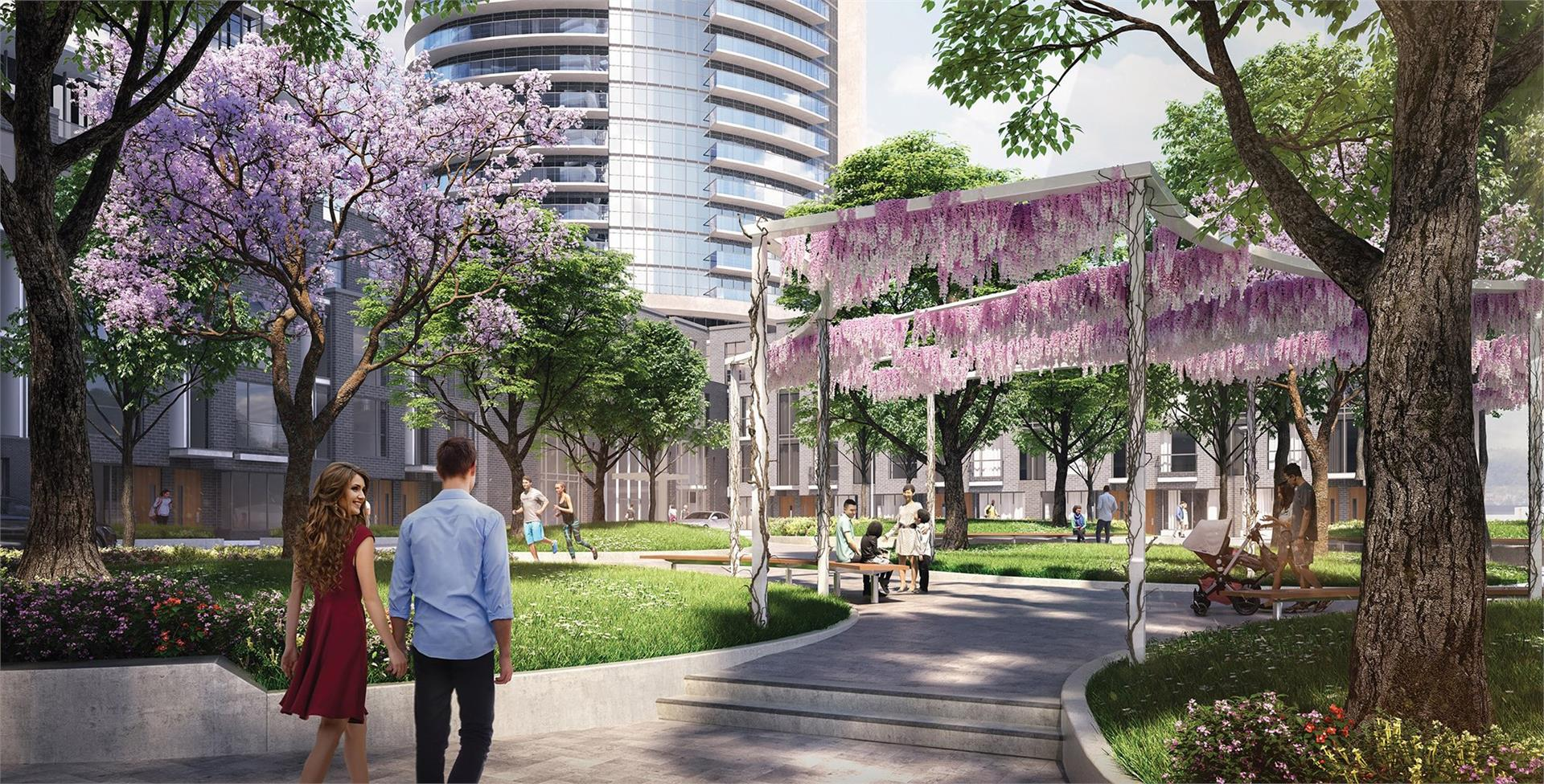Valhalla Town Square Condos and Towns Etobicoke Pre Construction