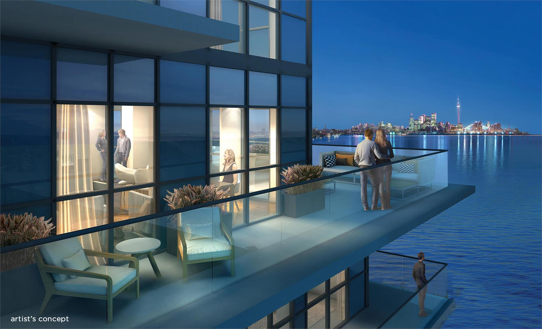 Waters Edge Luxurious Condos Preconstruction Lake Front Toronto