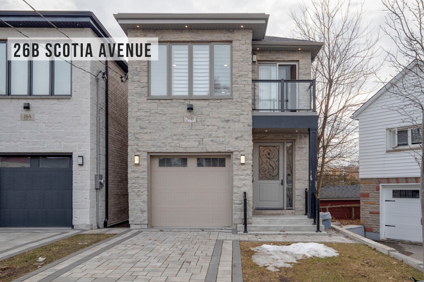 $1,298,000 • 26B Scotia Ave