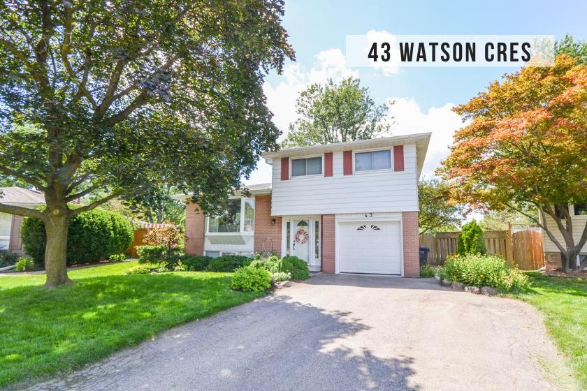 $979,900 • 43 Watson Cres