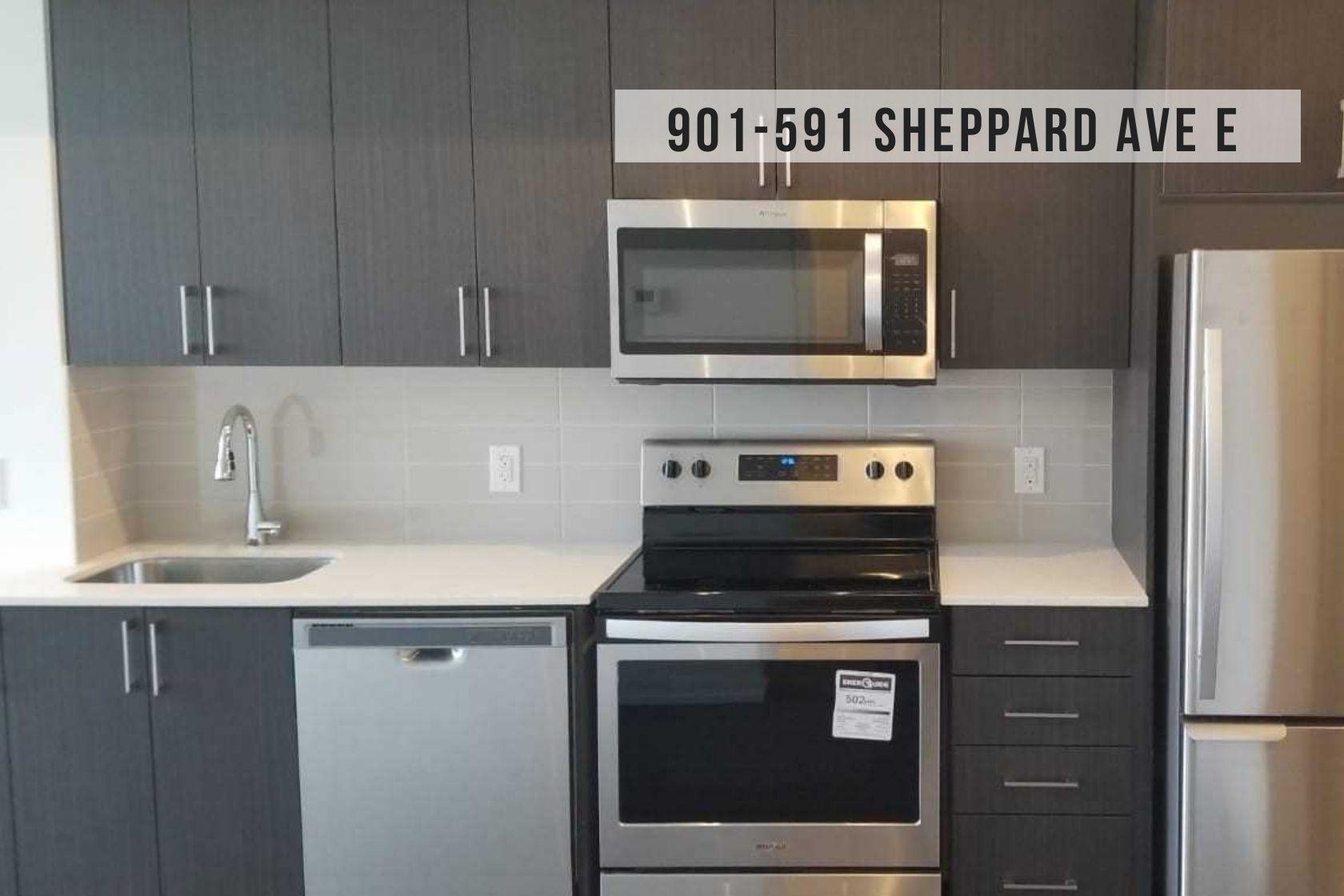 $1,650 • 591 Sheppard Ave E Unit 901