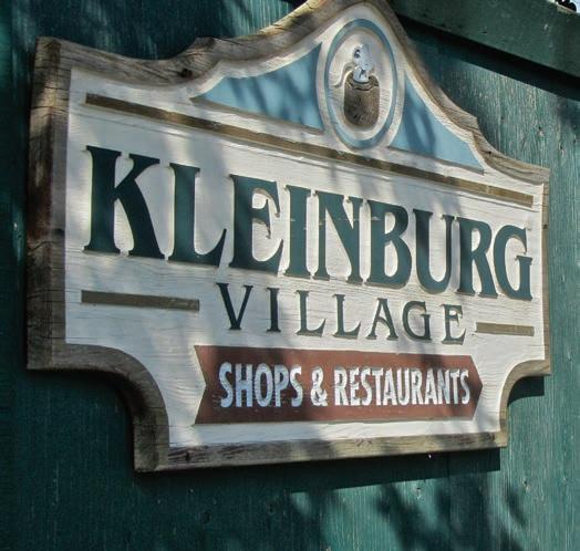 Kleinburg Village sign