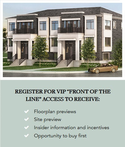 Register for VIP Front of the Line Access to Receive - Floorplan previews, Site preview, Insider information and incentives, Opportunity to buy first