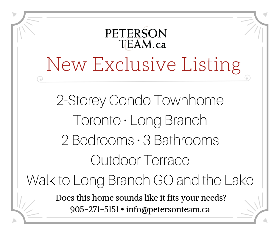 2 Storey Condo Townhome in Long Branch