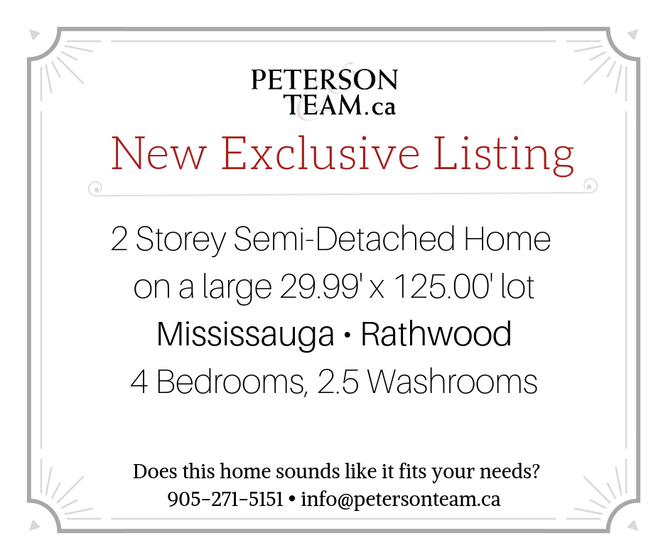 2 Storey Semi-Detached Home in Rathwood