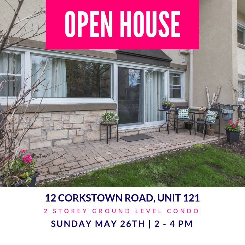 12 Corkstown Road, #121 | 2 Storey Ground Level Condo in Lakeview Park