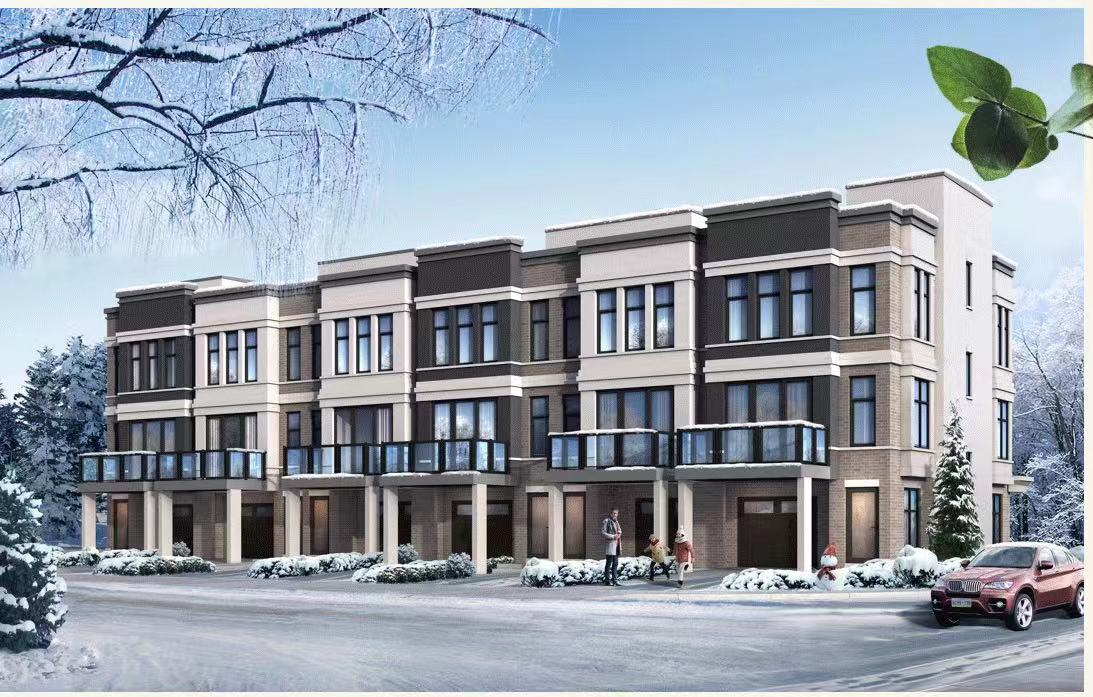 Traditional with backyard as well as Back-to-Back Townhomes in Markham