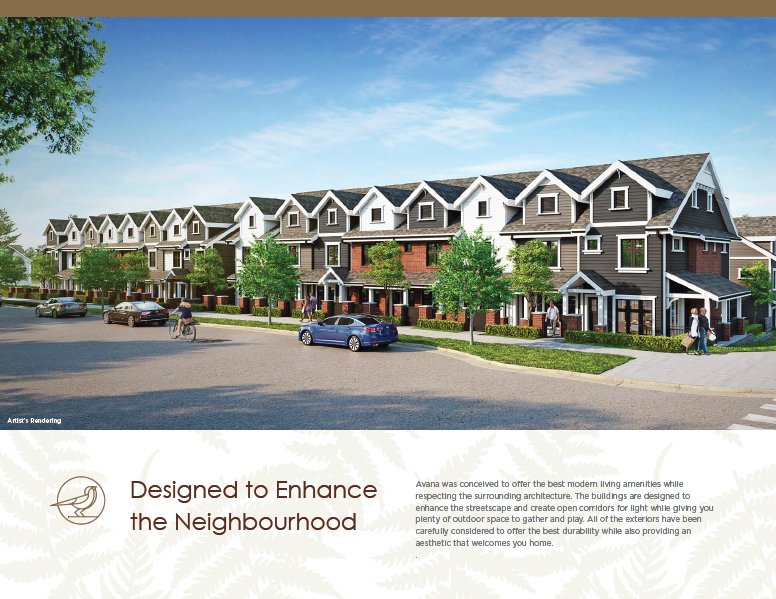 Avana Townhomes at Cottonwood Park